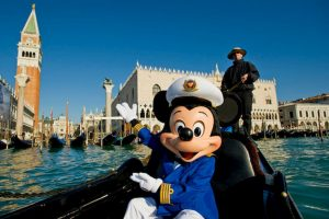 Mickey Mouse in Venice