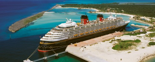 Disney Magic (cruise ship)  in The Bahamas
