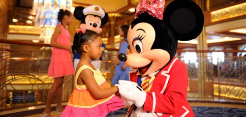 Minnie Mouse onboard Disney Dream ship