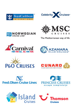 Cruise Holiday Deals from leading Cruise Lines including Royal Caribbean, Celebrity Cruises, NCL, Cunard, P&O, Fred Olsen, Thomson, Princess and Celebrity